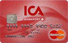 Ica-Banken bankkort plus