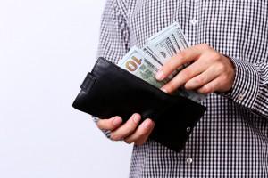 Sparpengar i en plånbok