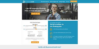 Businesscredit företagslån