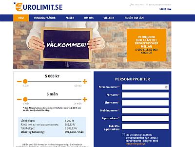 Eurolimit.se snabblån